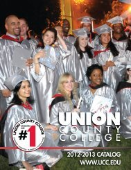 UCC Catalog - Union County College