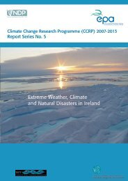 Extreme Weather, Climate and Natural Disasters in Ireland