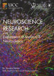 Neuroscience Research at UCC - University College Cork