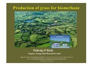 Production of grass for biomethane - University College Cork
