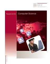 Computer Science - University College Cork
