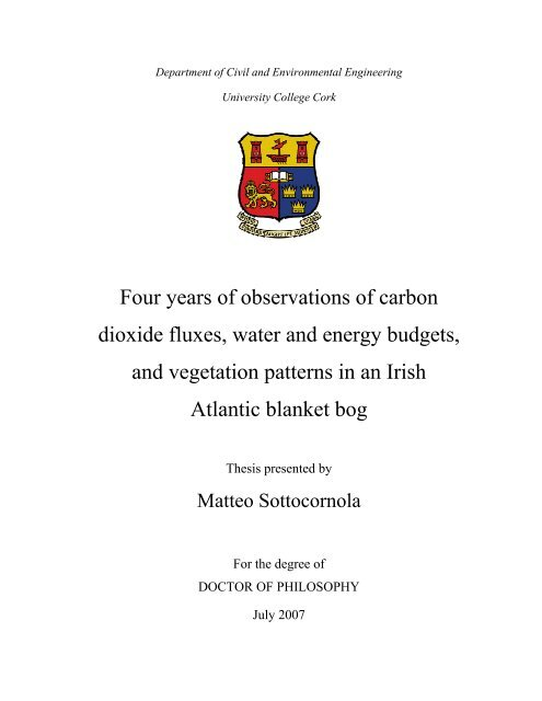 PhD Thesis, 2007 - University College Cork