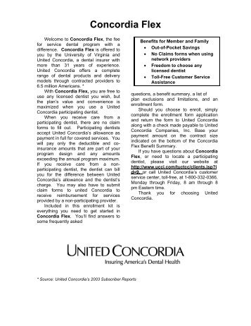 united concordia customer service