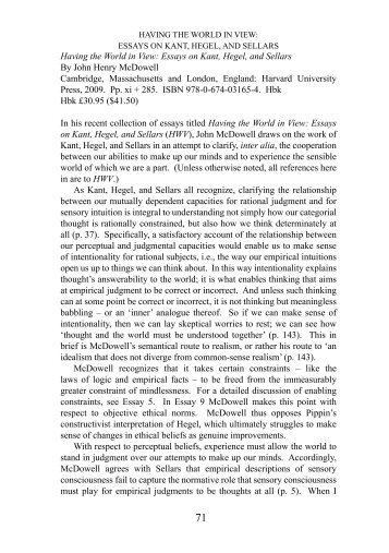 essays on hegel Read and download having the world in view essays on kant hegel and sellars free ebooks in pdf format - 2014 edexcel paper 3.
