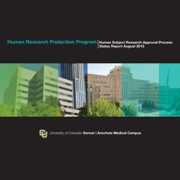 HRPP_FINAL_0822.indd - University of Colorado Denver