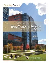 Anschutz Medical Campus Campaign Brochure - University of ...