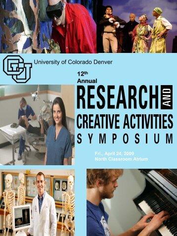 2009 Proceedings - University of Colorado Denver