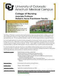 Associate Professor Pediatric Nurse Practitioner Faculty