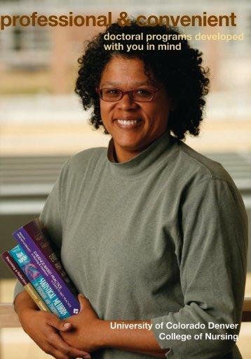 Read the Brochure - University of Colorado Denver
