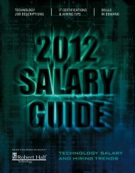 technology salary and hiring trends
