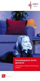 Energiesparen leicht gemacht - NVV-AG
