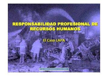 RESPONSABILIDAD PROFESIONAL DE RECURSOS HUMANOS ...