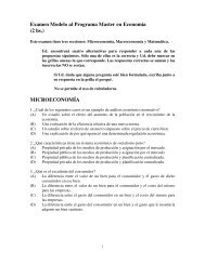Examen Modelo al Programa Master en Economía (2 hs ...