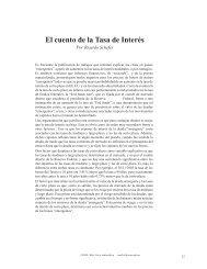 El cuento de la Tasa de Interés - Universidad del CEMA