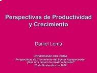 PRODUCCION - Universidad del CEMA