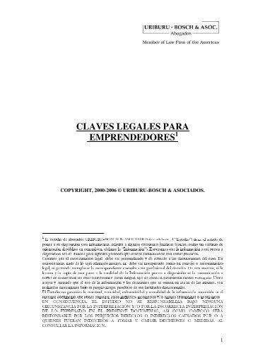 claves legales para emprendedores - Universidad del CEMA