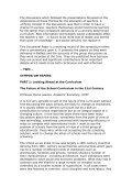 The School Curriculum Ten Years Hence - UCET: Universities ... - Page 4