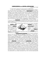 CONHECIMENTO e CAPITAL INTELECTUAL Francisco J.  C. ... - Ucg