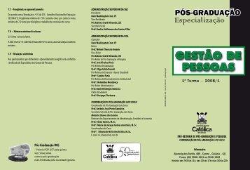GESTÃO DE PESSOAS - Ucg