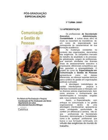 Comunicação e Gestão de Pessoas - Ucg