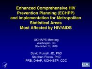 ECHPP - Urban Coalition for HIV/AIDS Prevention Services