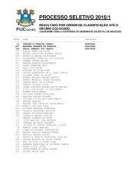 Transf. Externa   Reopção   Port. Diploma - Resultado - Ucg