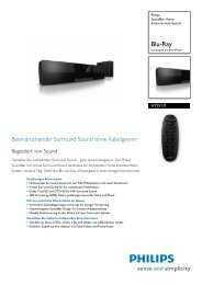 HTS5131/12 Philips Soundbar Home Entertainment-System