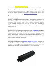 Five Ways to Save Toshiba PA3817U-1BAS Battery during No Access to Power Supply.pdf