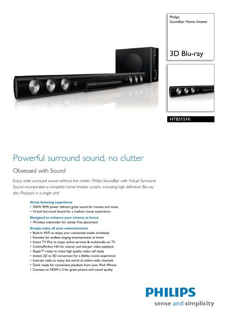 Drivers Update: Philips HTS5131/78 Home Theater