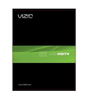 E551VL User Manual - Vizio