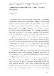 Bělohorský mýtus v historické próze 19. století a stereotypy s ním ...