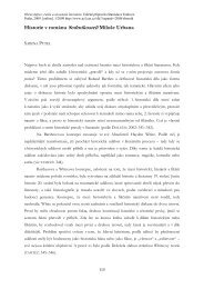 Historie v románu Sedmikostelí Miloše Urbana