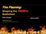 Fire Planning - UCLA Extension
