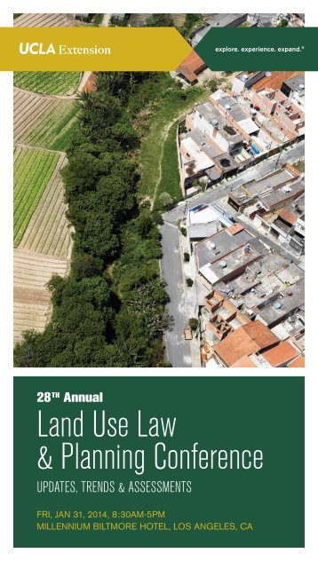 Land Use Law & Planning Conference - UCLA Extension