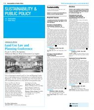 SUSTAINABILITY & PUBLIC POLICY - UCLA Extension