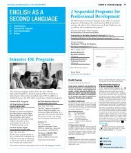 English as a sEcond languagE - UCLA Extension