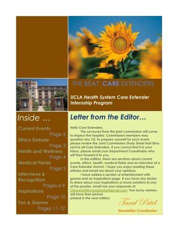 Spring 2011 - UCLA Health System