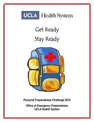 Get Ready Stay Ready - UCLA Health System