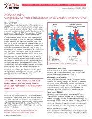 CCTGA - Adult Congenital Heart Association