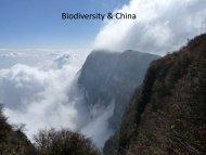 Biodiversity & China