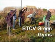BTCV Green Gyms