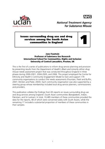 1 South Asian Final - National Treatment Agency for Substance ...