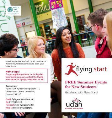 flying start - University of Central Lancashire