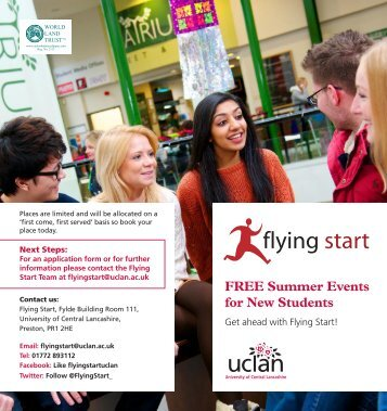 flying start - University of Central Lancashire