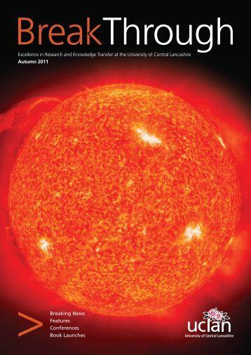 Autumn 2011 Issue - University of Central Lancashire