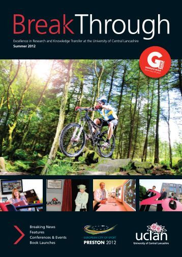 Summer 2012 Issue - University of Central Lancashire