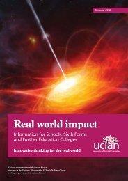 Real World Impact Summer 2013 Newsletter - University of Central ...