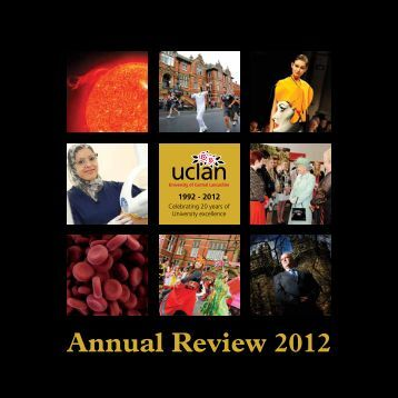 Annual Review 2012 - University of Central Lancashire