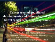 Cancer Treatments, Clinical Developments And Future Plans Of