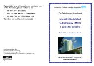 Intensity Modulated Radiotherapy (IMRT) - University College ...